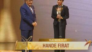 Yılın Medya Olayı Hande Fırat - 43. Pantene Altın Kelebek