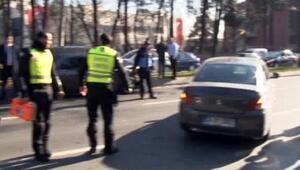 Cumhurbaşkanı Erdoğanın konvoyunda zincirleme kaza