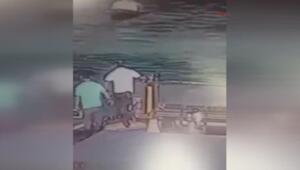 3 askerin şehit olduğu sahil güvenlik botuna geminin çarpma anı görüntülendi