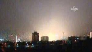 Bombalama emri ve bombalama görüntüleri