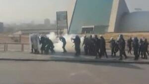 Ankara Garı saldırısının anma yürüyüşünde gerginlik