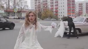 Düğün günü gelinin başına gelen tatsız olay