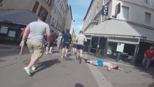 Rus holiganlar şiddeti şova çevirdi