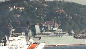 Kriz yaratan Caesar Kunikov adlı gemi Boğazdan geçti