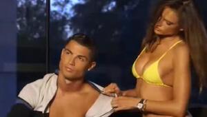 Ronaldo ile Alessandra Ambrosio nefes kesti