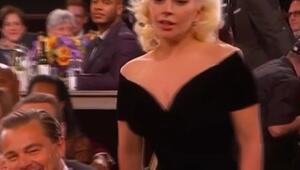 Leonardodan Lady Gagaya tuhaf hareket