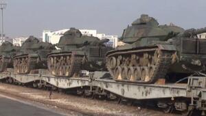 Gaziantepten Doğu ve Güneydoğuya tank sevkiyatı