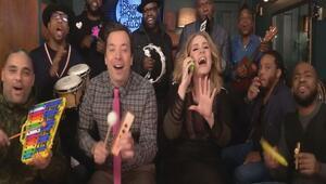 Jimmy Fallon ve Adele'den Hello