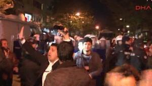 Kanaltürk önünde basın mensuplarına polis müdahalesi