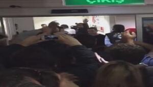 Tarık Toros, polis eşliğinde dışarı çıkarıldı