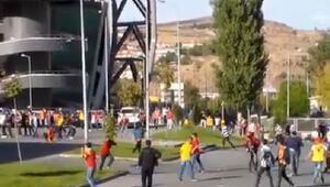 Kayseri-Fenerbahçe maçı öncesi olay