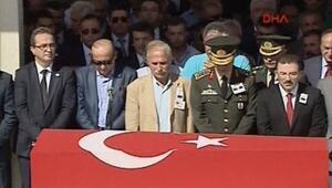 Şehit Binbaşı Yavuz Sonat Güzel'e uğurlama töreni