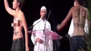 Femen konferansı bastı
