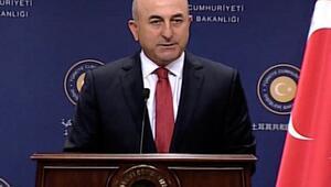 Dışişleri Bakanından hava harekatı açıklaması