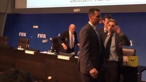 Sepp Blattere acı şaka