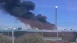 İspanyada A400M askeri uçak yere çakıldı