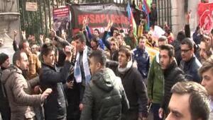 İstiklalde protesto gerginlikleri