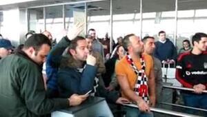 Atatürk Havalimanıında Beşiktaş isyanı