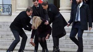 Danimarka Başbakanının talihsiz anı