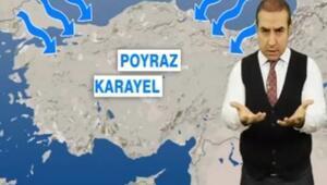 Tüm Türkiye Poyraz Karayel etkisi altında