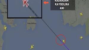 AirAsia uçağının radardan kaybolma anı