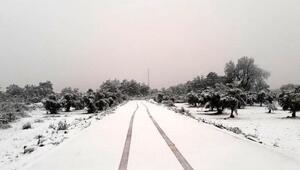 Antalyada kar sürprizi (1)