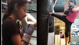 Adriana Limanın Instagram hesabında paylaştığı video olay oldu