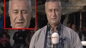 Yırca Köyü muhtarı gözyaşlarını tutamadı
