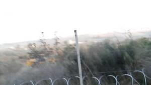 Köylülerle güvenlik görevlileri arasında arbede gündüz görüntüleri