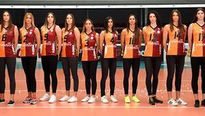 Galatasaraylı voleybolcular modellik yaptı