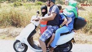 Aile boyu motosiklet yolculuğu
