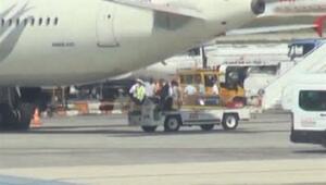 THY uçağındaki çocuğa Ebola kontrolü