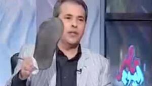 Mısır televizyonunda terlikli Türkiye protestosu