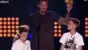 David Beckhama kötü şaka