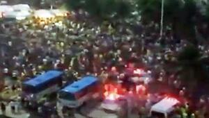 Maç sırasında Copacabanada büyük panik