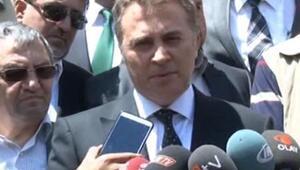 Beşiktaş spor kulubü başkanı Fikret Orman Somada