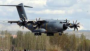 İlk Airbus A 400M askeri nakliye uçağı Kayseride