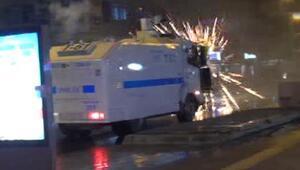 TAHLİYE PROTESTOSUNA POLİS MÜDAHALESİ