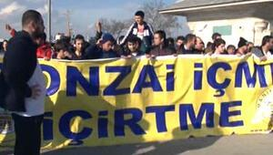 ÜSKÜDARDA BONZAİ PROTESTOSU