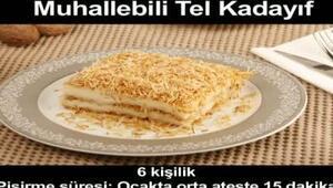 MUHALLEBİLİ TEL KADAYIF