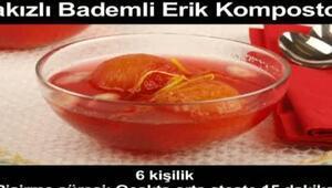SAKIZLI BADEMLİ ERİK KOMPOSTOSU
