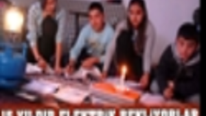 15 YILDIR ELEKTRİK BEKLİYORLAR