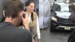 Adriana Limanın kameralara yakalanan kaza anı