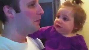 Babasını Sakalsız Gören Bebeğin Dramı