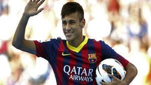 Neymar'ın Barcelona Günleri Başladı