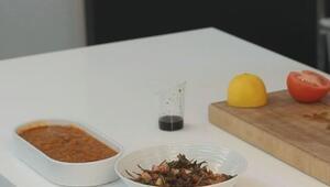 Acılı Ezme ve Zahter Salatası