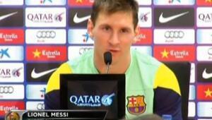 Lionel Messi'den Neymar'a Tam Destek
