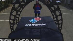 Domikopter - İnsansız pizza aracı