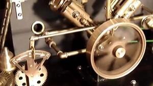 Buhar Gücüyle Çalışan Santral Motoru