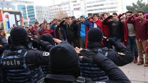 Samsunda terörü protesto mitingine 5 bin kişi katıldı